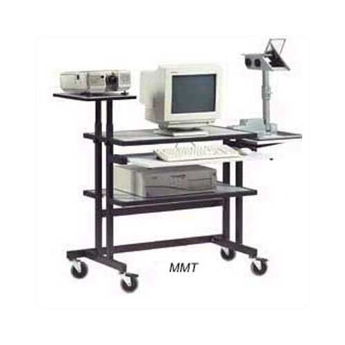Da-Lite MMT - Multi-Media 33.5'' W x 19.75'' D Computer Table