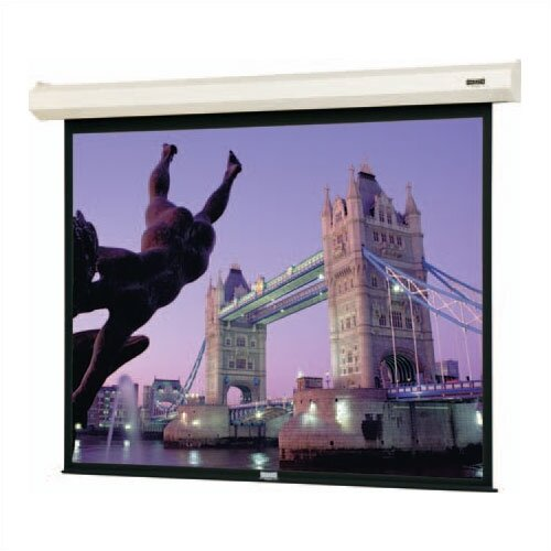 "Da-Lite Cosmopolitan Electrol Motorized Matte White 92"" x 164"" Electric Projection Screen"