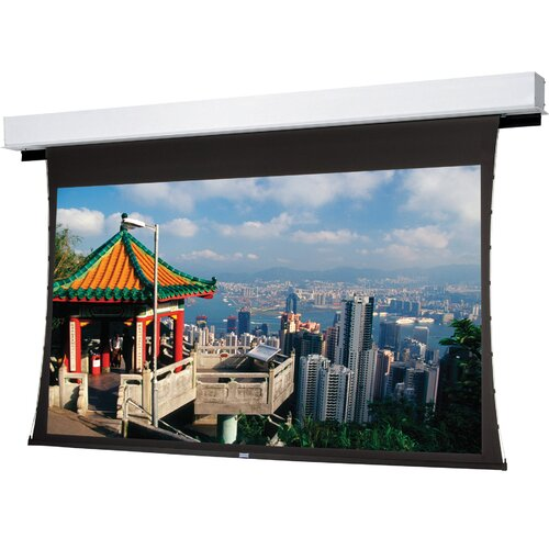 "Da-Lite Tensioned Advantage Deluxe Electrol High Contrast Da - Mat 92"" Diagonal Electric Projection Screen"