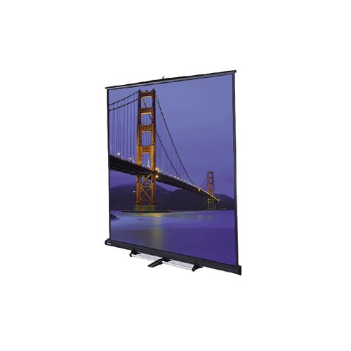 "Da-Lite Model C Matte White 150"" Portable Projection Screen"