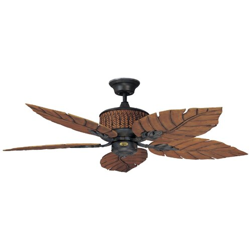 "Concord Fans 52"" Fernleaf Breeze 5 Blade Ceiling Fan"