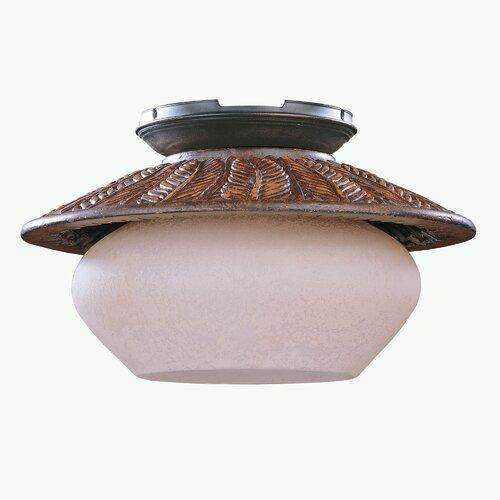 Concord Fans Fernleaf Breeze 1 Light Ceiling Fan Light Kit