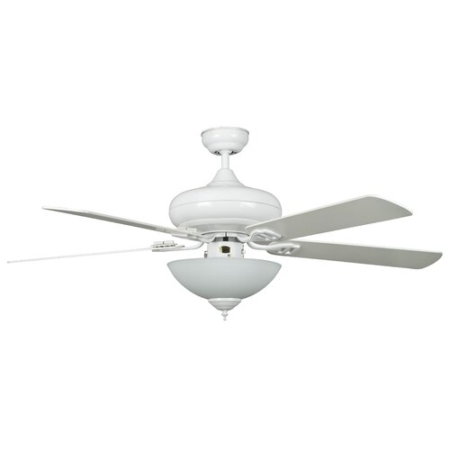 "Concord Fans 52"" Valore Quick Connect 5 Blade Ceiling Fan"