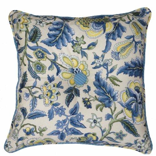 Waverly Imperial Dress Garden Path Reversible Throw Pillow