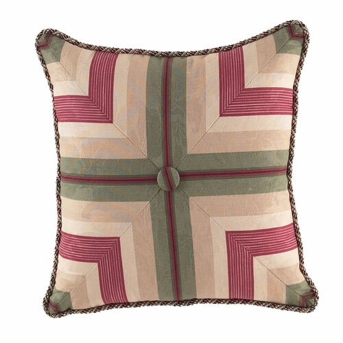Laurel Springs Button Tufted Accent Pillow