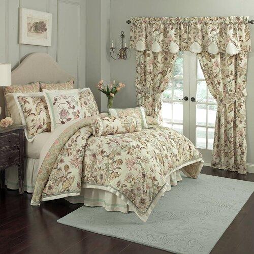 Waverly Graceful Garden 4 Piece Comforter Set Amp Reviews