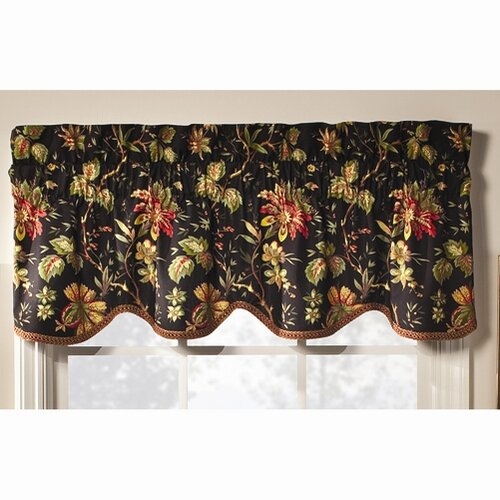 Waverly felicite curtain valance amp reviews wayfair