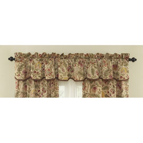 Waverly Imperial Dress 50 Quot Curtain Valance Amp Reviews Wayfair