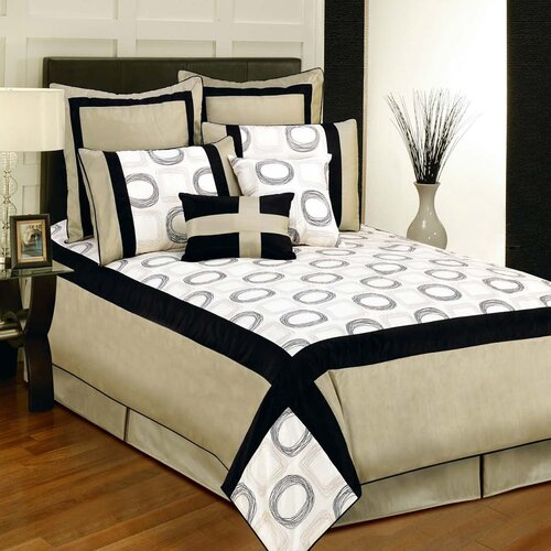 Sherry Kline Synergy 8 Piece Comforter Set
