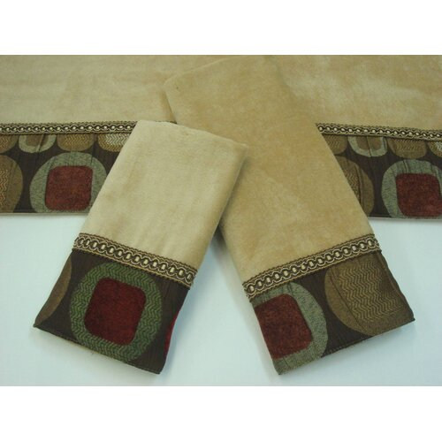 Sherry Kline Metro 3 Piece Decorative Towel Set