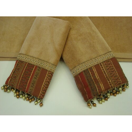 Sherry Kline Belvedere Decorative 3 Piece Towel Set