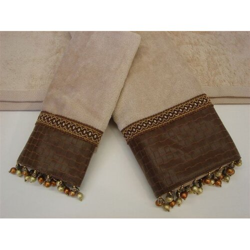 Sherry Kline Basket Decorative 3 Piece Towel Set