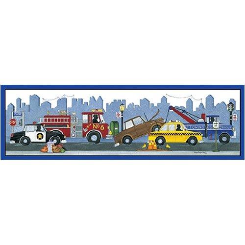 Art 4 Kids City Vehicles Canvas Art