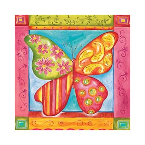 Way Cool Butterfly Canvas Art
