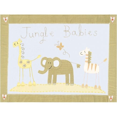 Jungle Babies Canvas Art