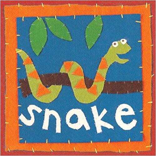 Art 4 Kids Patchwork Snake Canvas Art