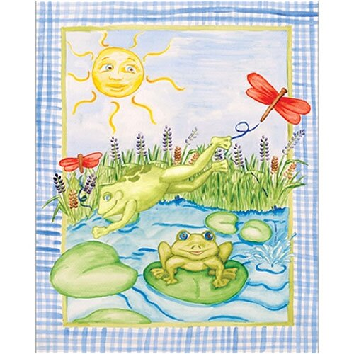 Leap Frog Canvas Art