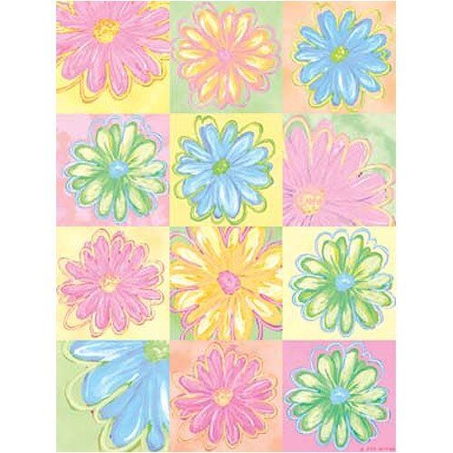Art 4 Kids Daisy Patches Canvas Art