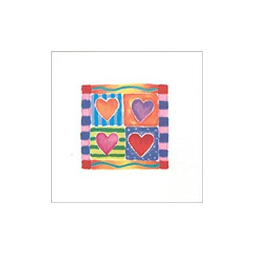 Art 4 Kids Heart Collection I Canvas Art