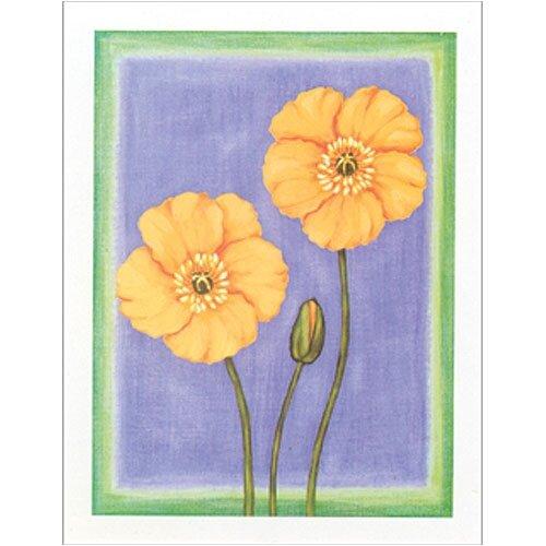 Art 4 Kids Spring Fantasy I Floral Canvas Art