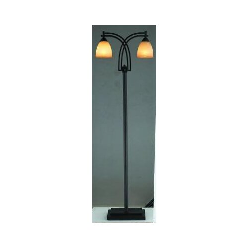 Gen-Lite Galleria 2 Light Floor Lamp