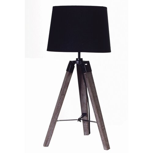 """Gen-Lite Salvage 26.75"""" H Table Lamp with Empire Shade"""
