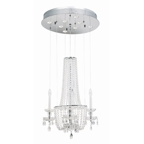 La Boheme 8 Light Crystal Chandelier
