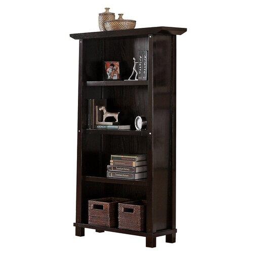 Kyoto 4-Shelf Wood Bookcase