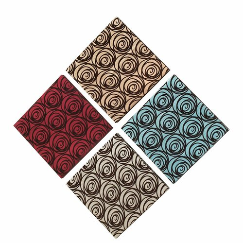 Dainolite Blooming Rose 4 Peice Painting Print Set