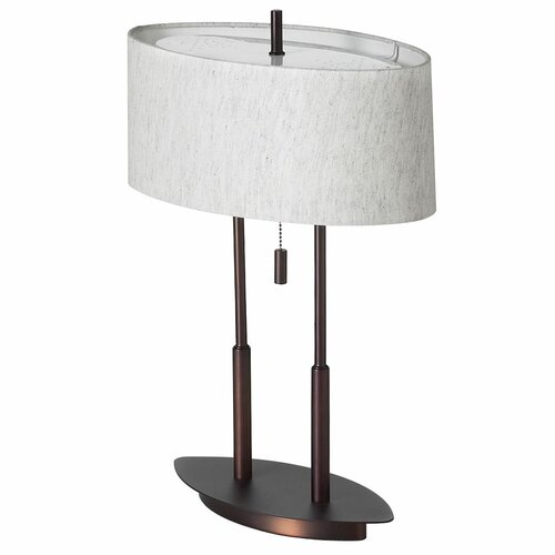 arteriors home beaumont h table lamp with oval shade. Black Bedroom Furniture Sets. Home Design Ideas
