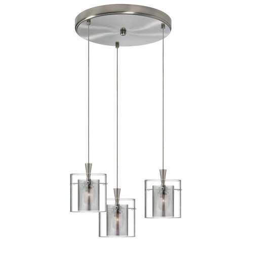 Dainolite 3 Light Round Pendant