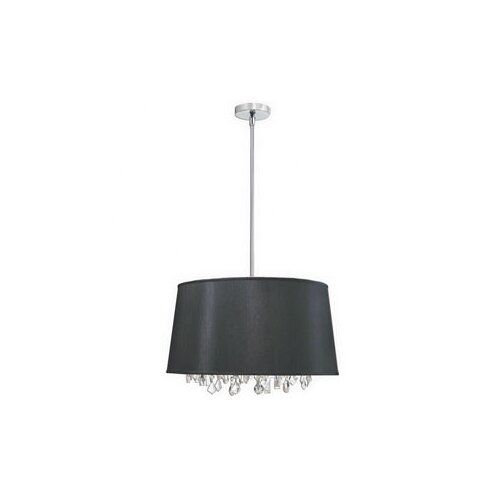 Dainolite 6 Light Crystal Drum Pendant
