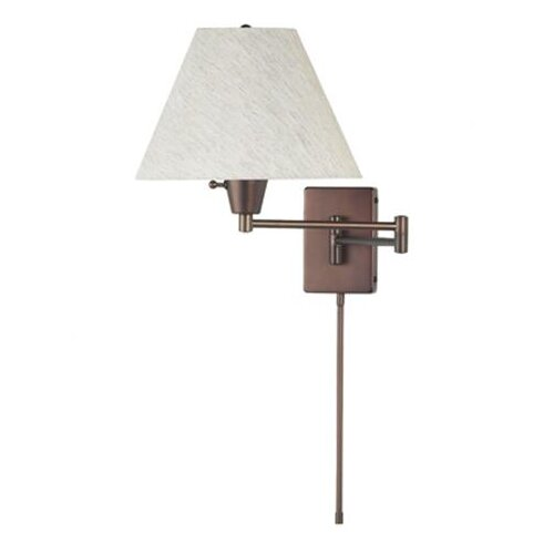 Dainolite 1 Light Swing Arm Wall Lamp