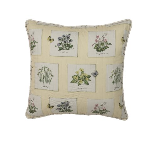 Greenhouse Cotton Pillow