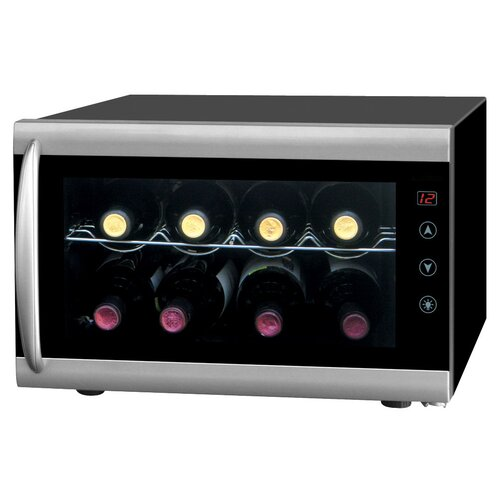Sunpentown 8 Bottle Single Zone Thermoelectric Wine Refrigerator