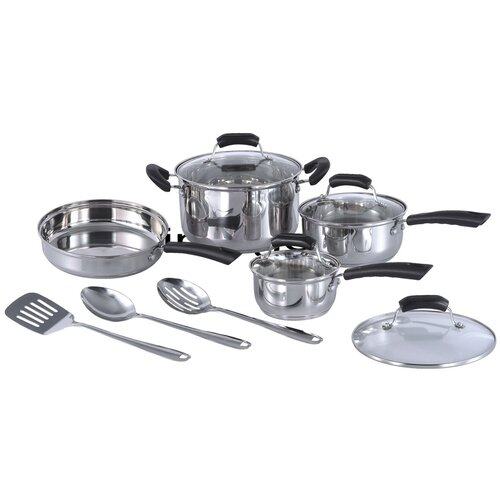 Sunpentown Stainless Steel 11-Piece Cookware Set