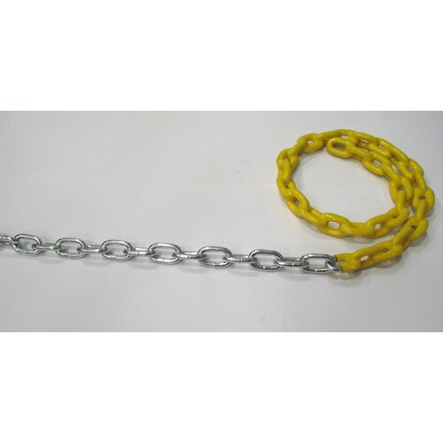 Action Play Systems Zinc Plated Swing Chain with Plastisol Coating
