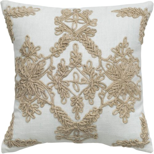 Rizzy Home Jute Pillow