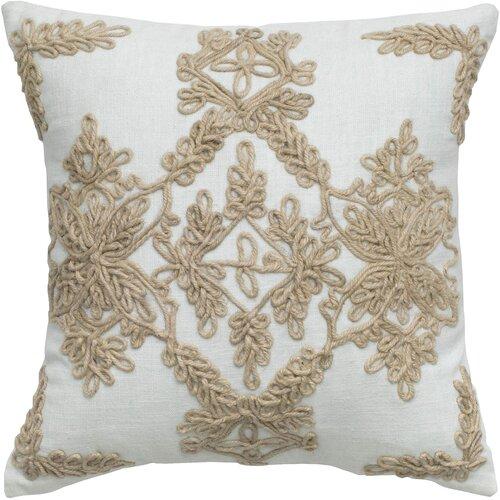 Rizzy Home Jute Pillow