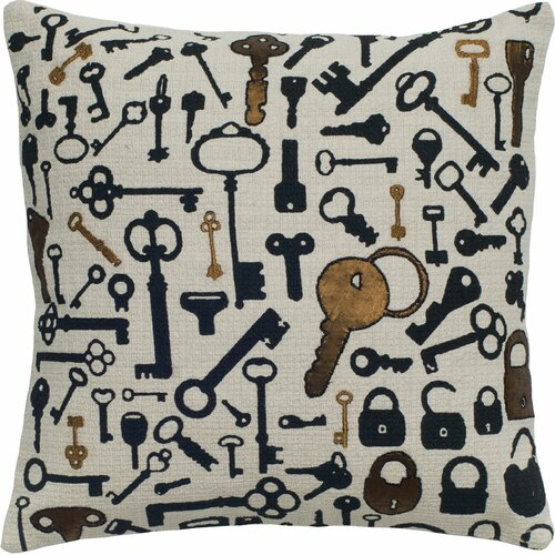 Rizzy Home Key Pillow