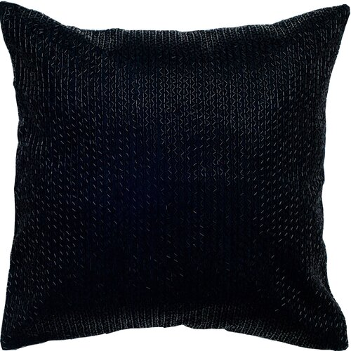 Rizzy Home Sequin Embroidered Pillow