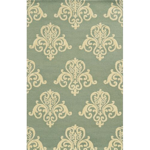 Vicki Payne Light Blue Rug