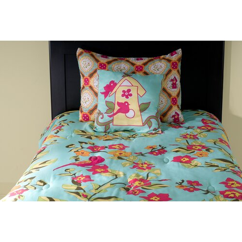Rizzy Home Birds in Paradise Kids 3 Piece Comforter Set