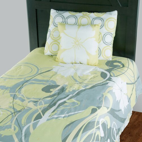 Kids Flowers 3 Piece Comforter Set