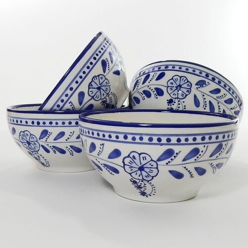 Le Souk Ceramique Azoura Design Soup / Cereal Bowl
