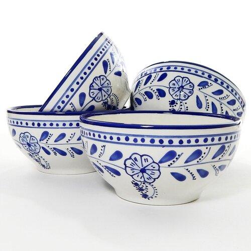 le souk ceramique azoura design 14 oz latte and soup mug reviews wayfair. Black Bedroom Furniture Sets. Home Design Ideas