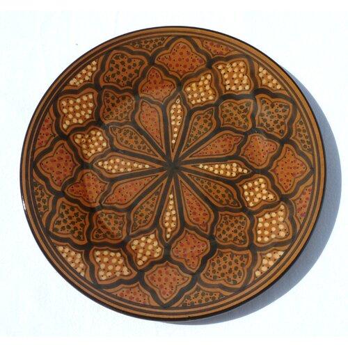 """Le Souk Ceramique Honey Design 11"""" Dinner Plates"""