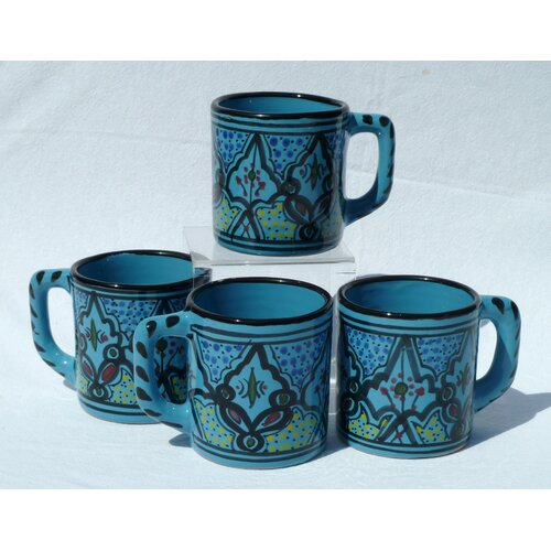 Le Souk Ceramique Sabrine Design 12 oz. Coffee Mug
