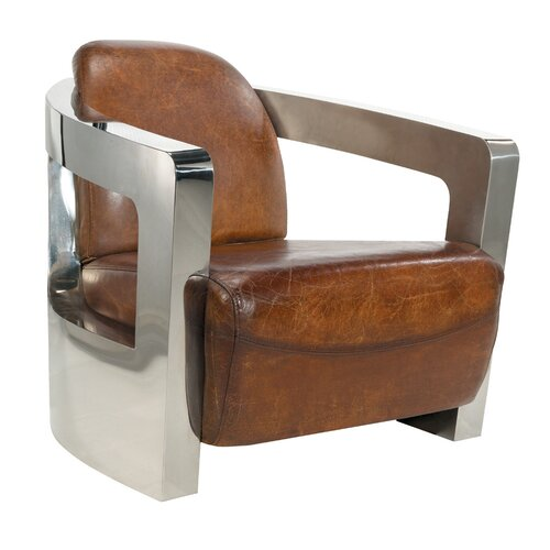 London Leather Chair