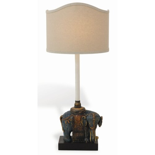 Port 68 Taj Right Facing Elephant Table Lamp